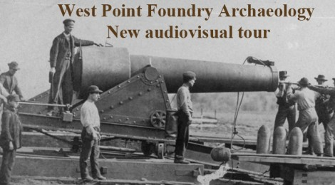 Historic West Point Foundry in USA