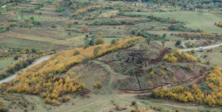 Heritage at Risk: Ancient gold mine of Sakdrissi in Georgia