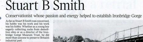 Times Obituary Stuart B. Smith