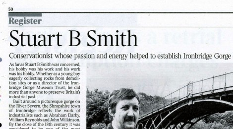 Times Obituary Stuart B. Smith