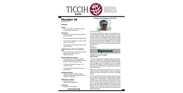Bulletin 66, 4th Quarter, 2014 Published