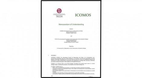 Memorandum of Understanding between ICOMOS and TICCIH - November 10, 2014