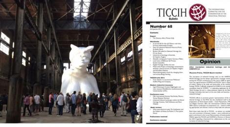 TICCIH Bulletin Number 68, 2nd Quarter 2015 Published