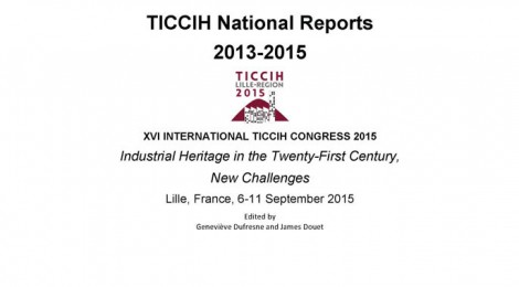 TICCIH Congress 2015 - TICCIH National Reports 2013-2015 Published