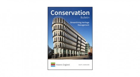 Historic England publishes Conservation Bulletin 74..see and download