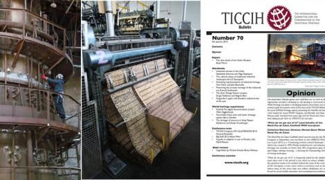TICCIH Bulletin No. 70 - 4th quarter, 2015 published