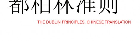 都柏林准则 The Dublin Principles
