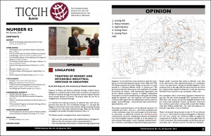 TICCIH Bulletin 82 pages 1 and 2