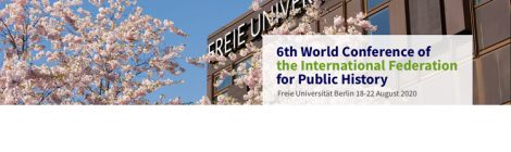 2020 World Conference on Public History