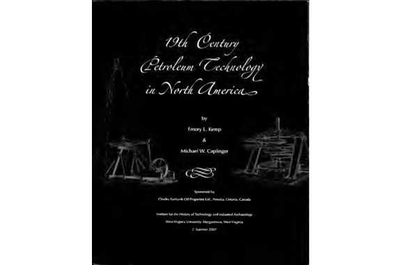 Book on North American Petroleum Technology History Available Online