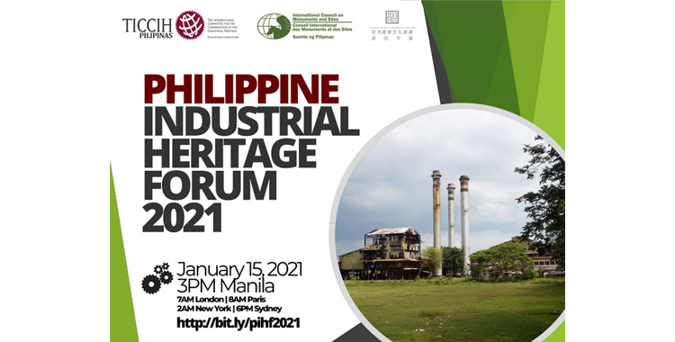 2021 Philippine Industrial Heritage Forum