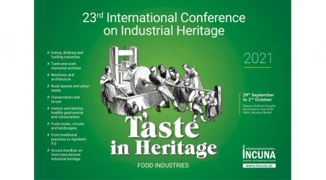 INCUNA - XXIII INTERNATIONAL CONFERENCE ON INDUSTRIAL HERITAGE