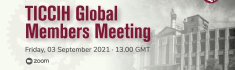 TICCIH Global Members Meeting (3 September 2021)